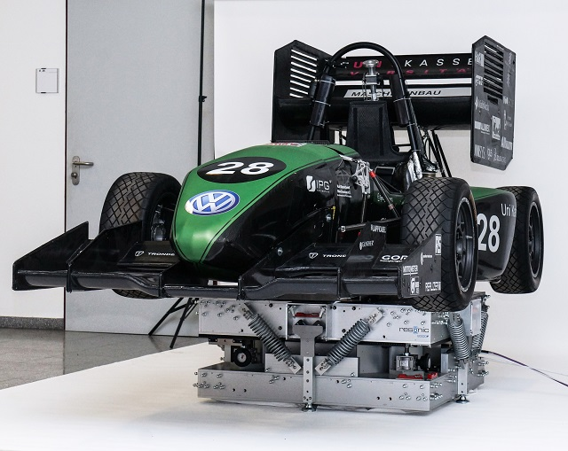 Measurement Service for Herkules Racing - Measurement of Complete Mass Properties
